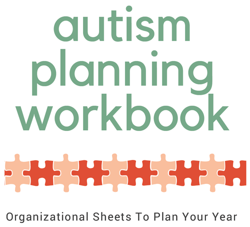 autism planning workbook