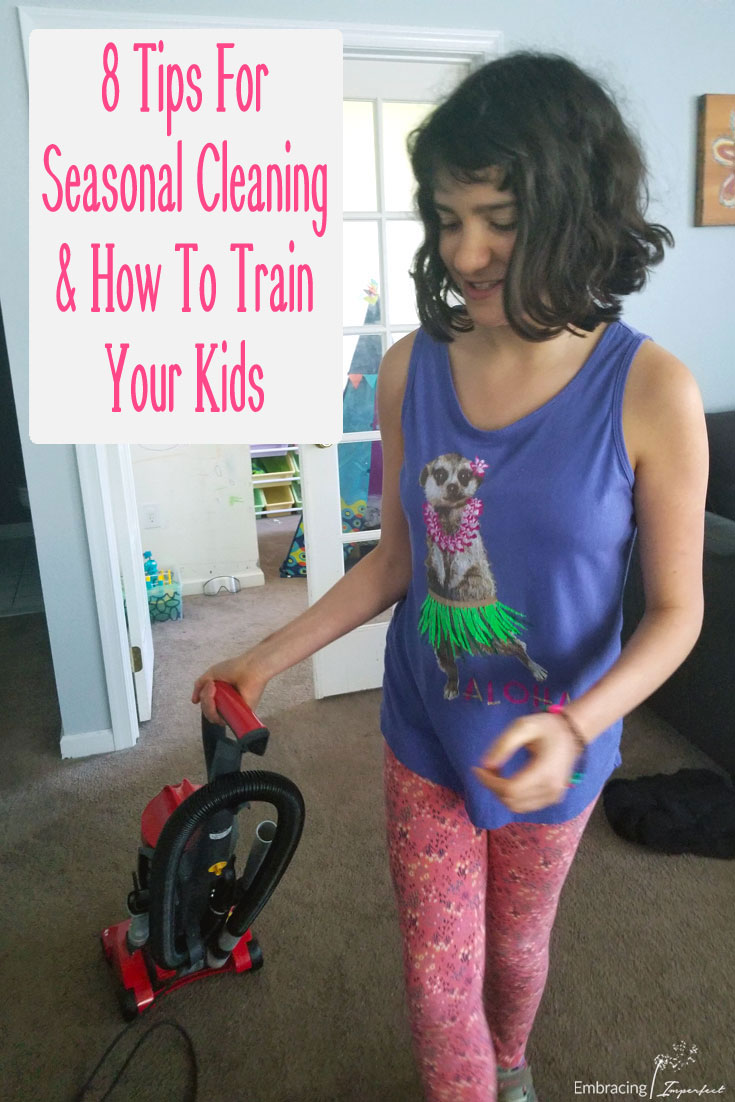 Teach your kids about seasonal cleaning and creating a toxin-free home #FreeandCleanLiving #CollectiveBias #ad