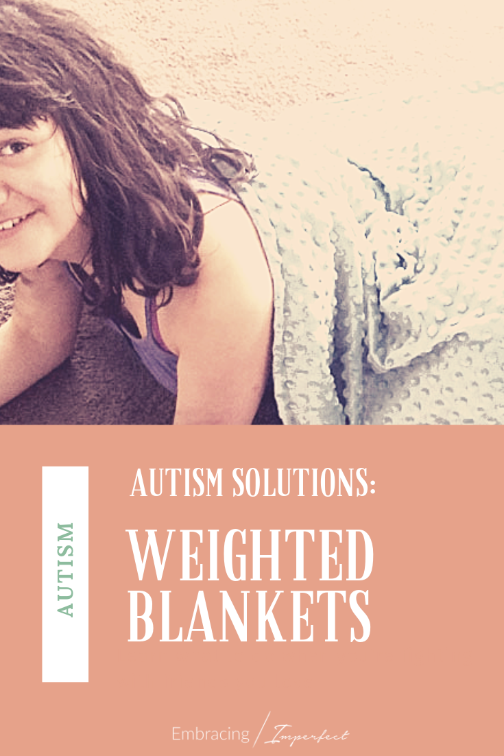 You may have heard that a weighted blanket for autism can benefit your child but did you know the how? A look at why your child needs this blanket @Sonno_Zona #ad #autism #WeightedBlanket