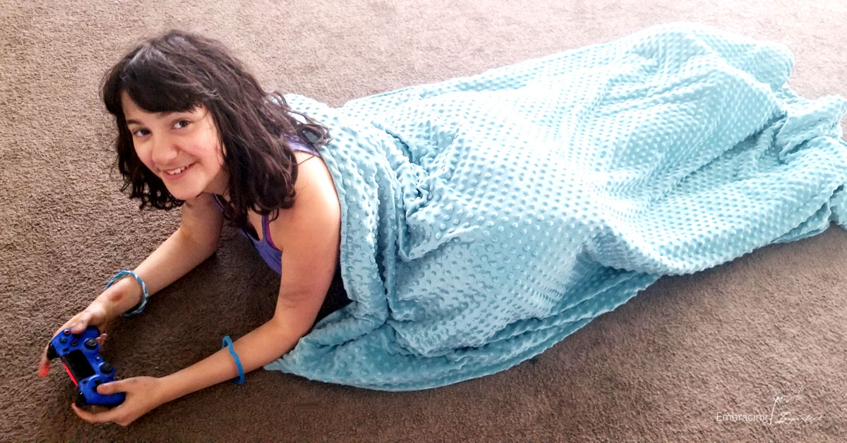 weighted blanket for autism