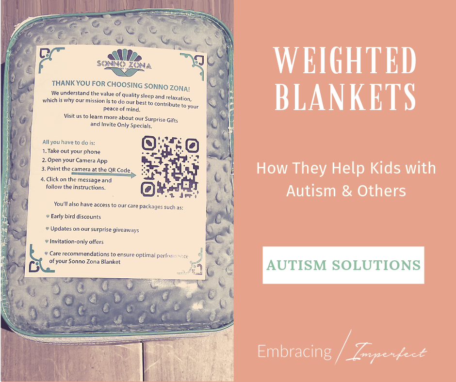 weighted blankets for autism